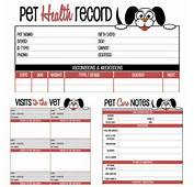 Printable Dog Vaccination Record Template Image Gallery  Photogyps