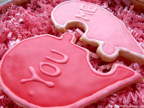 happy valentines day ideas valentine s day puzzle cookies a living