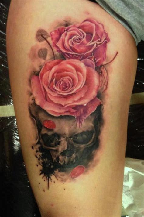 imagenes de corazones saliendo del pecho tatuaje calavera con rosas en la pierna tatuajesxd