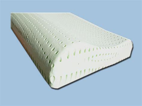 cuscini ergonomici cuscino lattice ergonomico demaflex cuscini ergonomici