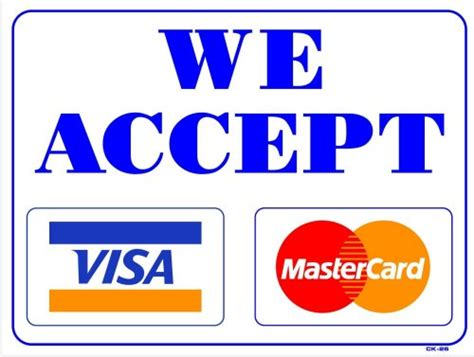 visa or mastercard which is better j c services accepts visa and mastercard