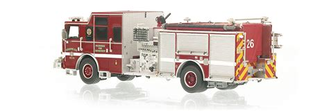 Fireplace Ltd Milwaukee by Replicas Milwaukee Department Engine 26 Scale Model