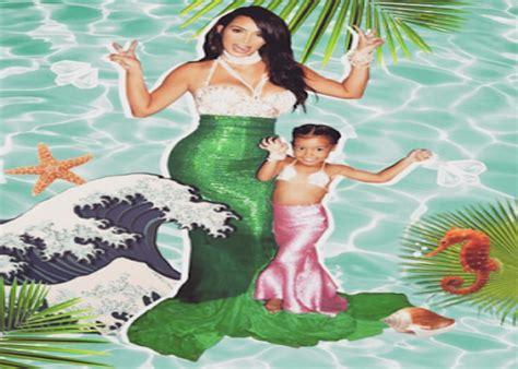 kim kardashian mermaid birthday kim kardashian shares more photos from her daughter s