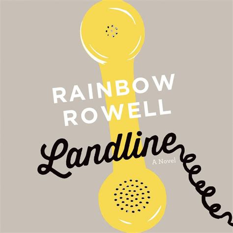 Landline Oleh Rainbow Rowell 1 36 best audiobooks for your road trip and beyond bookriot
