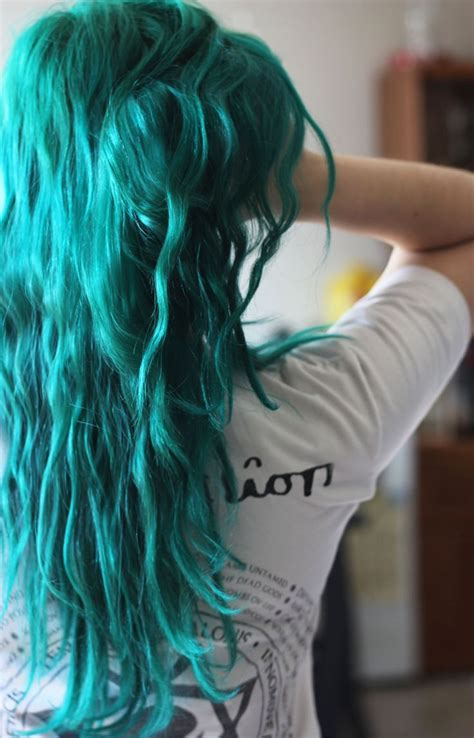 turquoise hair color best 25 aqua hair ideas on turquoise hair