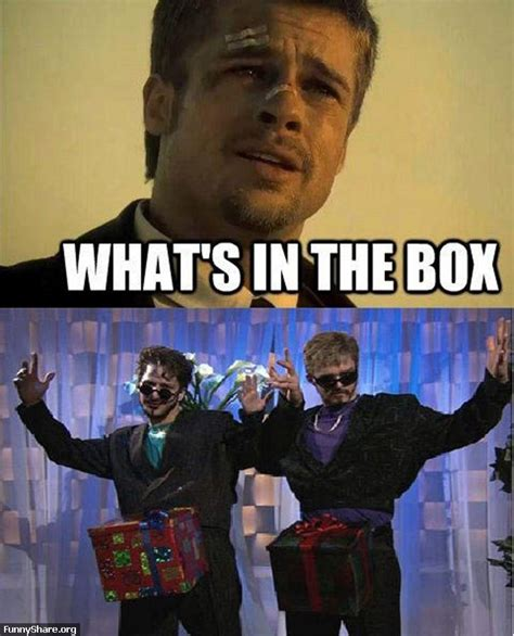 Dick In A Box Meme - what s in the box funny pics pinterest