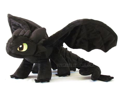 stuffed animal toothless fury large plush 183 plushiluv 183 store powered by storenvy