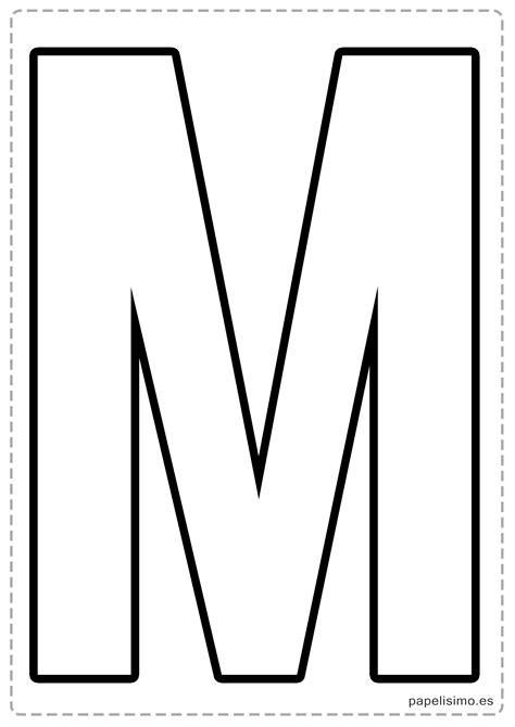 moldes de letra m guirnalda de cumplea 241 os con letras para recortar