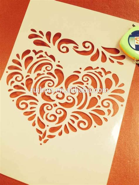 Painting Templates Stencils by Pet Stencils Plastic Drawing Painting Template Stencil Set