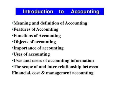Definition Of Mba In by Definition Of Accounting