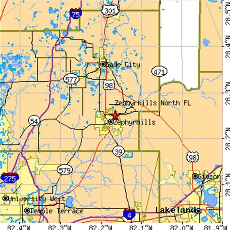 map of zephyrhills florida area zephyrhills florida fl population data races