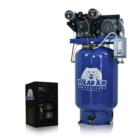 10 Hp Air Compressor Cfm - 10 hp air compressor with 58 cfm dryer package 3 phase
