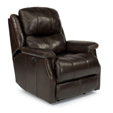 cheap power recliners flexsteel 1240 500p mateo leather power recliner discount