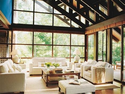 glass wall house 15 amazing glass walls living room designs rilane