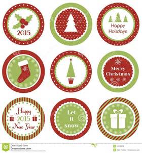 christmas cupcake toppers stock vector image 44428819
