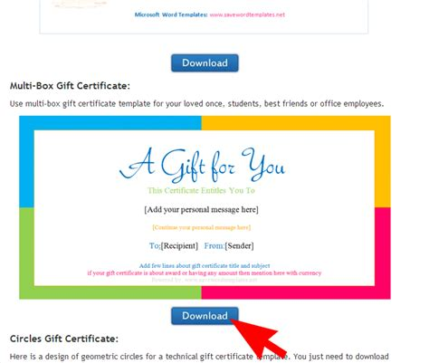 how to make your own gift certificates save word templates