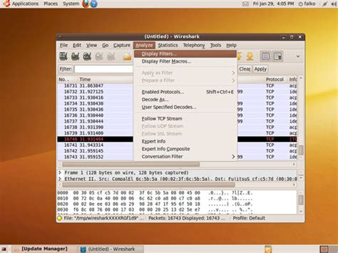wireshark ubuntu tutorial network analysis with wireshark on ubuntu 9 10
