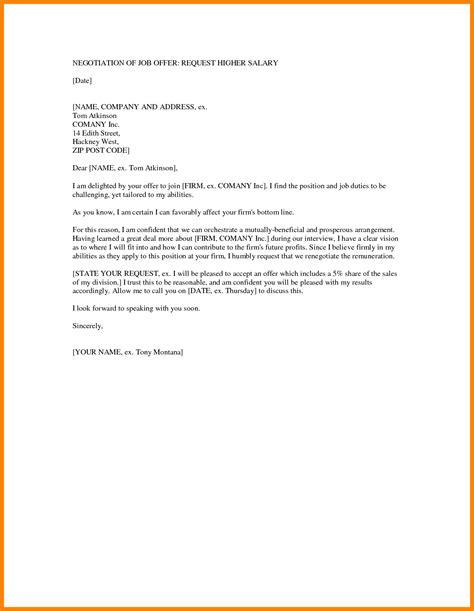 counter offer letter 6 exle of counter offer letter salary sales slip