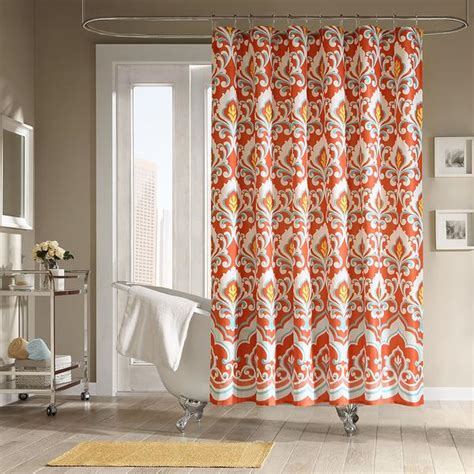 Fall Shower Curtains Sophisticated Fall Shower Curtains For Guest Bathrooms Rotator Rod