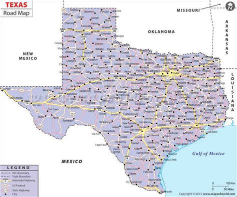 texas road map pdf buy texas road map