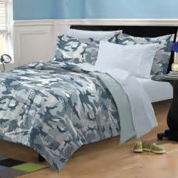 new geo camo steel blue gray camouflage bedding kid