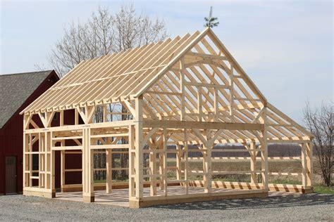 Superior Post And Beam Barn Plans #6: 22_x_32_Post_and_Beam_Barn_Construction-IMG_0905-0.jpg