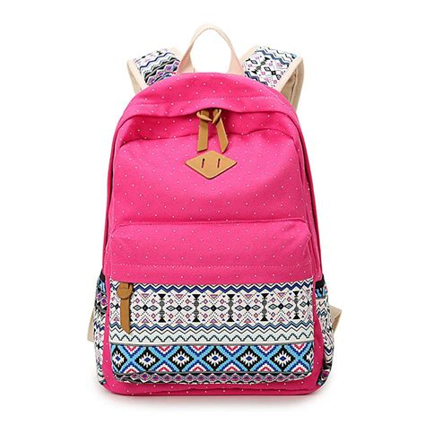 Fasion Bag Canvas bags backpack school fashion shoulder bag