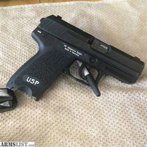 hk usp 40 holster with light armslist for sale hk usp 40 cal compact