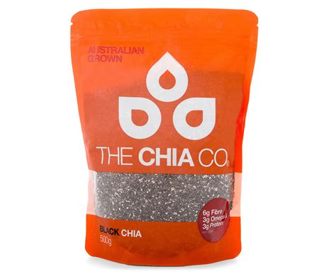 Healhty Corner Black Chia Seeds 500g the chia co chia seeds black 500g great daily deals at