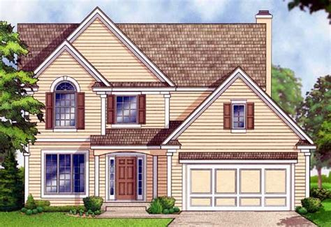 traditional two story house plans traditional style house plans 1943 square foot home 2