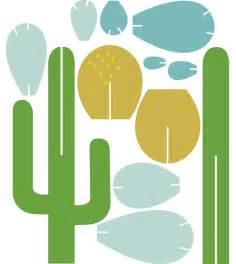 cacti templates beci orpin forever cactus template paper crafts plants