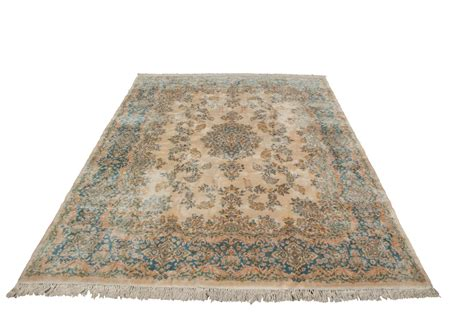 Faded Rugs by Amazing Luster Rococo Faded Plush Kerman Rug Ebay