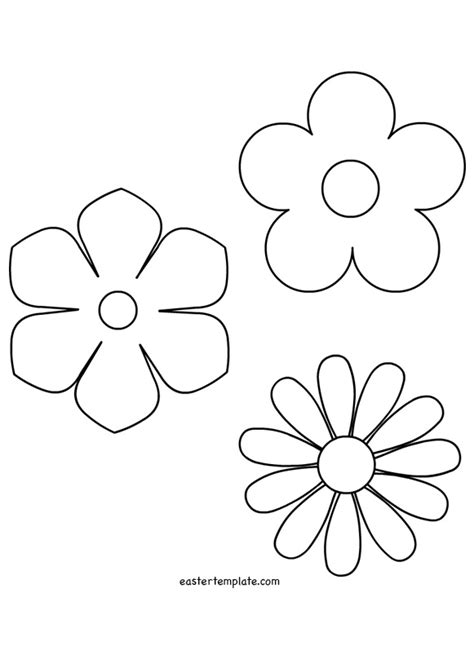 template of flowers flower template stencils flowers template and stenciling