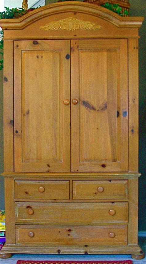 pine tv armoire furnitureandmore s garage tv armoire tv trays and armoires