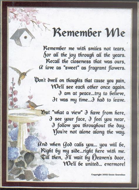 15 Best Images About Funeral Poems On Pinterest Let Me