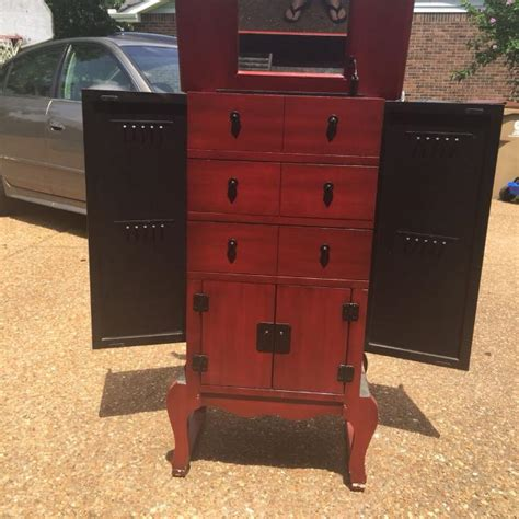 armoire awesome jewelry armoire for sale vintage standing