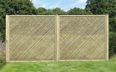 5 Ft Fence Panels With Trellis Privacy Trellis Fence Panel 5ft Berkshire Fencing
