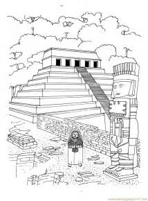 coloring pages hanging gardens of babylon of babylon colouring pages