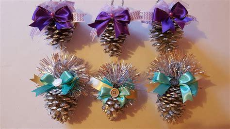 juegos de pinos de navidad para decorarlo como decorar pi 241 as de pino para navidad