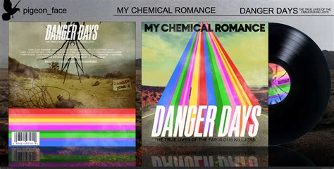 my chemical danger days box cover by pigeon face