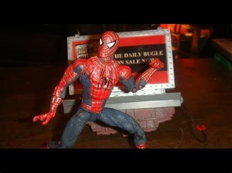 spider 2 figure poseable spider 2 figure review