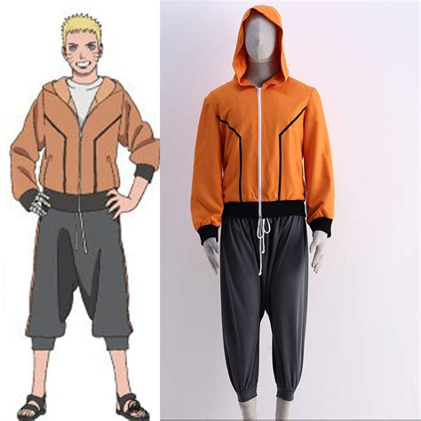 The Last Uzumaki Costume Anime clothing anime the last