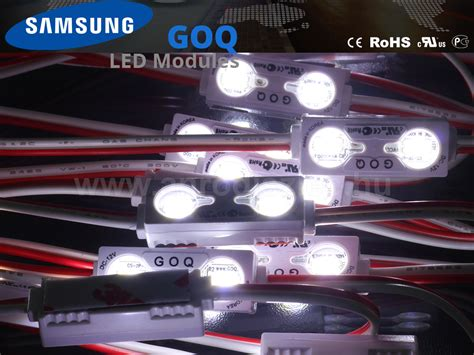 lumines goq samsung led modul 5630x2 150 176 ip68 6500k 5 201 v 193 r 299 ft led modul