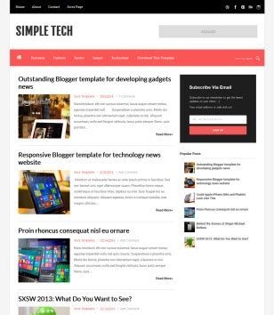 tech blogger templates deluxetemplates simple tech blogger template 2014 free download