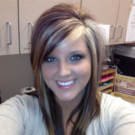 highlights for front sides only for dark brown hair 1000 ideas about chunky blonde highlights on pinterest