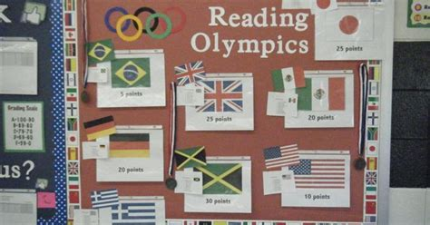 reading counts themes the reading olympics a reading counts competition between
