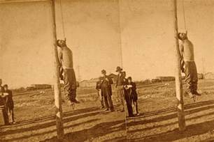 photo hanging dragged to death true west magazine