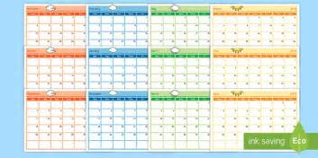 year planning template academic year monthly calendar planning template 2017 2018