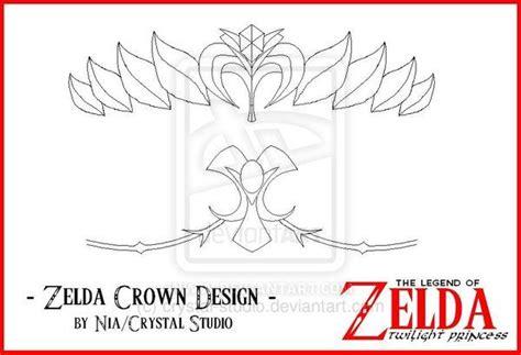 Zelda Crown Pattern | cosplay island view costume blinks princess zelda