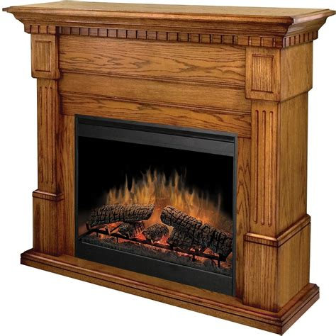 Oak Electric Fireplace Dimplex Essex 54 Inch Electric Fireplace With Purifire Oak Gds30 1086o Shopperschoice